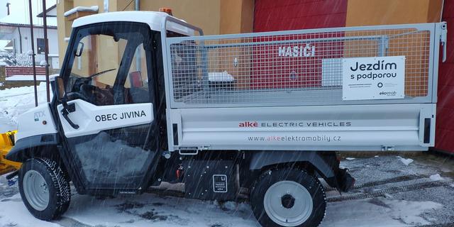 Elektromobil Alké ATX 340 EH N1